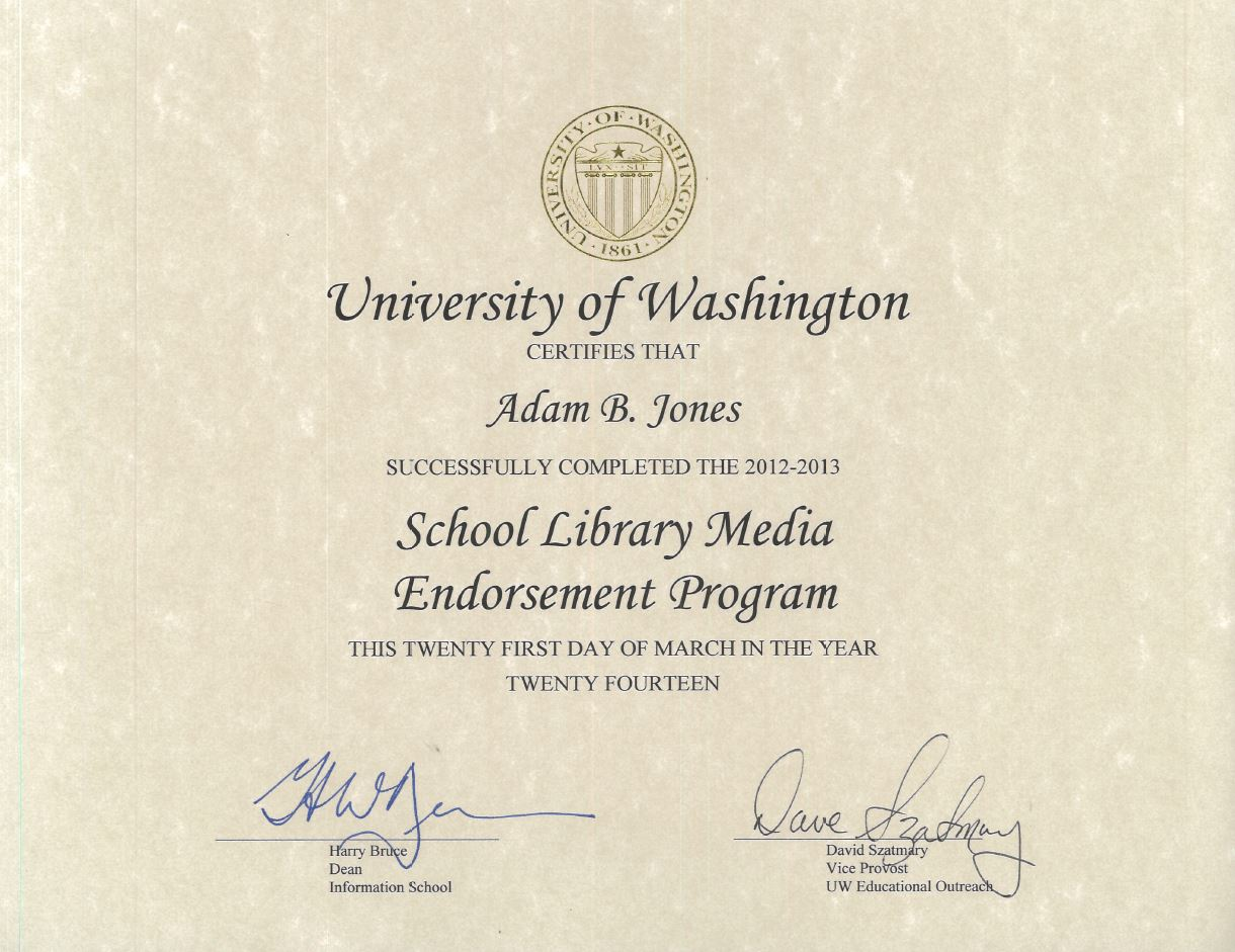 Degrees certification adam ben jones professional single subject teaching credential in english from the state of california commission on teacher credentialing 1betcityfo Gallery